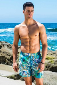 Sauvage Capri Midlength Boardshorts Beachwear Jungle