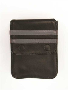 Mister B Harness Leather Wallet Black/Grey 601316