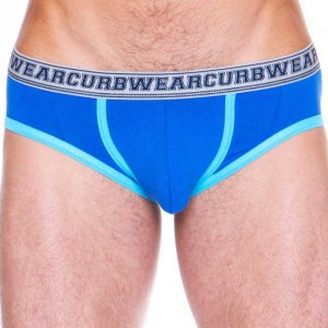 Curbwear Oxford Brief Underwear Blue/Aqua
