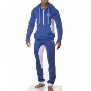 ES Collection Casual Hooded Jacket Royal SP012