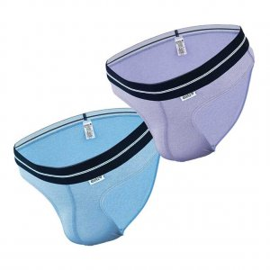 Dietz [2 Pack] Komfort Brief Underwear Blue & Lavender