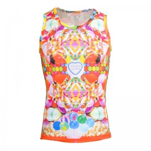 Andreas Diofebi The Trinitas Candy Muscle Top T Shirt