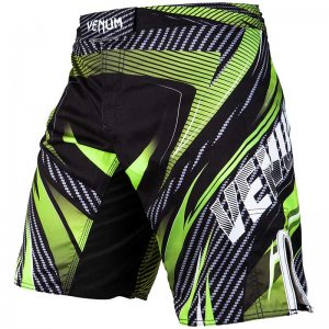 Venum Logo Galatic 2.0 Carbon Fight Boardshorts Beachwear Bl...