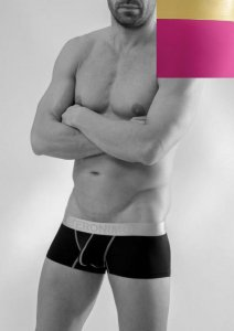 Geronimo Boxer Brief Underwear Pink 1663B2-7