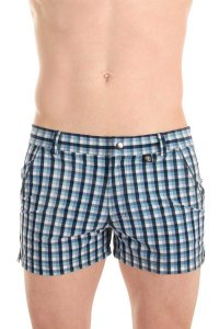 L'Homme Invisible Miami Shorts Swimwear Blue BA210-VIC-049