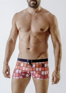 Geronimo Square Cut Trunk Swimwear 1718B1-2
