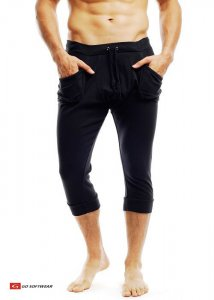 Go Softwear Pull On Yogi 3/4 Pants Black 4758