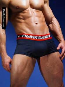 Frank Dandy Hank Boxer Brief Underwear Navy Blue 10248-325