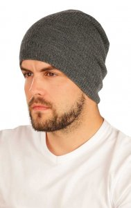 Litex Basic Knitted Beanie Grey 51514