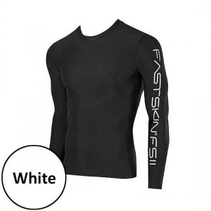 Speedo Compression Long Sleeved T Shirt White 440303