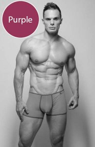 Pride Gossamer Trunk Underwear Purple PRU-077