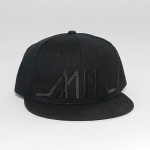 Marco Marco Embroidered MM Snapback Hat Black