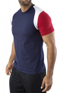 Vuthy Short Sleeved T Shirt Navy 237