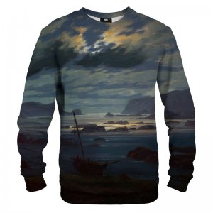 Mr. Gugu & Miss Go Northern Sea In The Moonlight Unisex Sweater S-PC1555