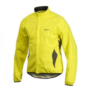 Craft Active Bike Rain Long Sleeved Jacket Yellow 194399