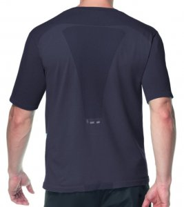 Lupo Comfort Fit Running Seamless Dry Short Sleeved T Shirt Graphite 70023-1