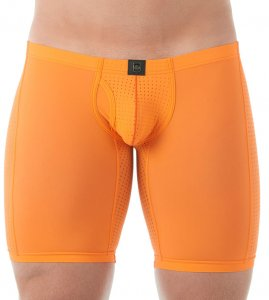Gregg Homme DRIVE Jammer Long Boxer Brief Underwear Orange 142655