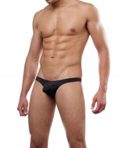 Cover Male Pouch Enhancing Thong Underwear & Swimwear Black 202