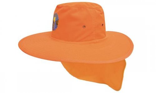 Headwear Professional Canvas Sun Hat With Flap 4055