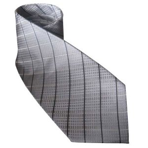 Distino Of Melbourne Nude Silk Necktie Grey N1