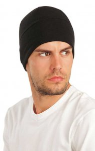 Litex Solid Beanie Black 51475