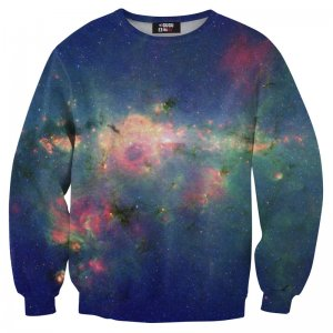 Mr. Gugu & Miss Go Green Nebula Unisex Sweater S-PC006