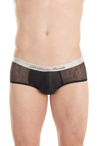 L'Homme Invisible Illussions Ultra Brief Underwear Black MY17C-ILL-001