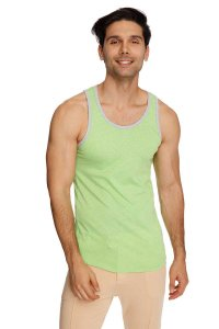 4-rth The Perfect Tank Top T Shirt Lime Slub