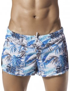 Clever Life Guard Jungle Shorts Blue 0609