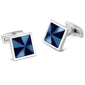 Duncan Walton Masson Cufflinks Blue C2800