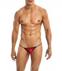 Miami Jock C-Sock Ballzout Thong Underwear Red 40105