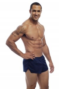 Go Softwear American Jock Ultra Running Shorts Navy 8316