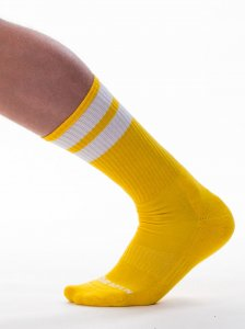 Barcode Berlin [3 pack] Gym Socks Yellow/White 91366-502