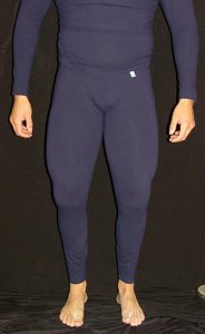Arroyman Spandex Fitness Tights Pants Navy CLZ05
