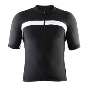 Craft Velo Jersey Short Sleeved T Shirt Black/White 1903993
