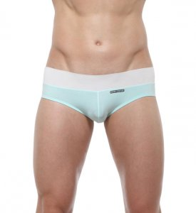 Private Structure Nexus Mini Brief Underwear Reef Blue 99-MU-3127