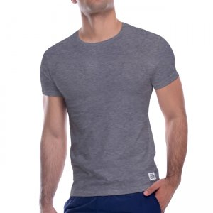 Private Structure Custom Fit Crew Neck Bodywear Short Sleeved T Shirt Melange 99-MT-1627