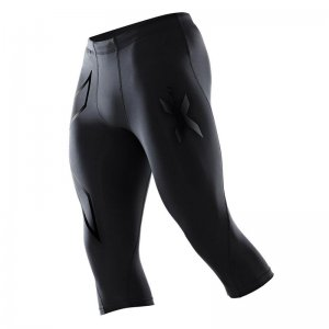 2XU Perform 3/4 Compression Tights Pants Nero MA1942B