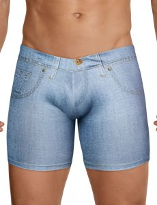 Clever Cowboy Denim Boxer Brief Underwear Blue 2422