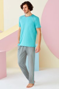 Doreanse Short Sleeved T Shirt & Pants Set Loungewear 4504