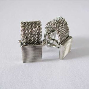 Distino Of Melbourne Chelsea Banded Chain Cufflinks C14