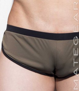 Mategear Nae Chul II Sports Series Mini Shorts Dark Olive Gr...