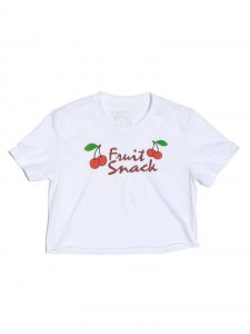Polly & Cracker Fruit Snack Crop Short Sleeved T Shirt