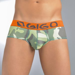 Clearance Gigo CAMOUFLAGED Brief Underwear