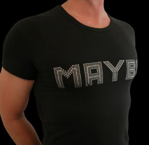QZ Bodywear Club Maybe T Shirt 293-54-400-1