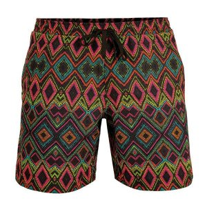 Litex Printed Mesh Lined Shorts Swimwear 93660