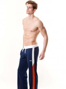 N2N Bodywear Sport Sweat Pants Navy SP3
