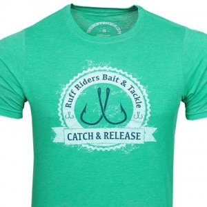 Ruff Riders Catch & Release Short Sleeved T Shirt