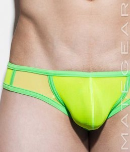 Mategear Da Hee II Mesh Extremely Sexy Bulge Mini Boxer Brie...