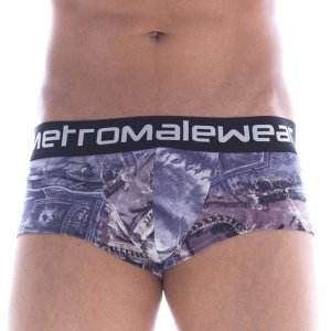 MIIW Denim Short Boxer Brief Underwear Purple 2026-48